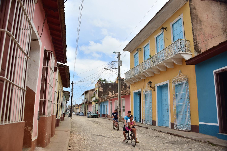 Cuba travel pictures Trinidad city