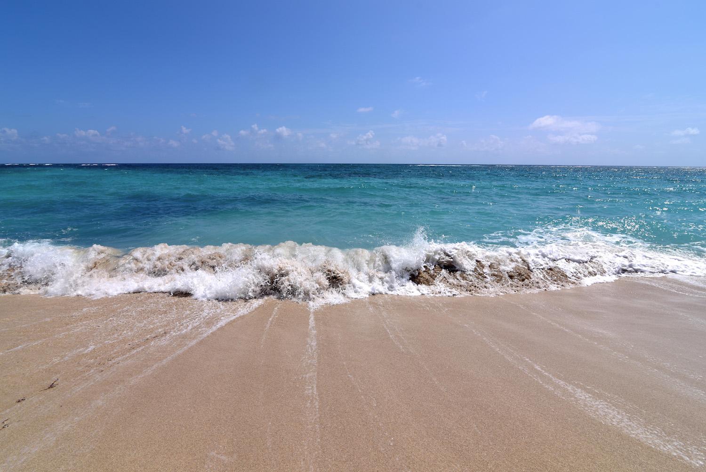 Baracoa waves Cuba travel pictures