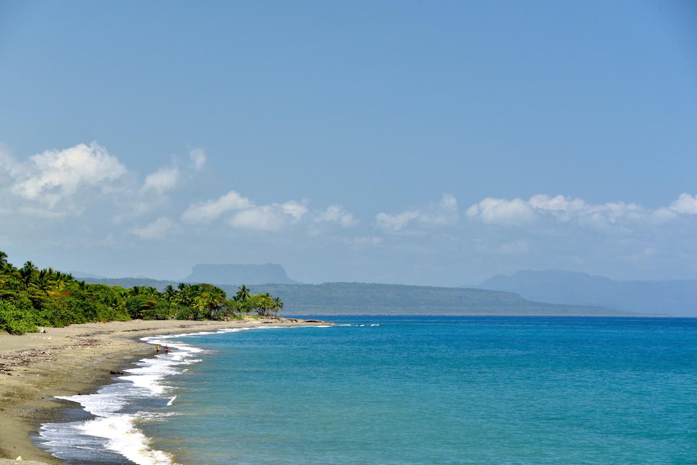 Cuba travel pictures Baracoa beach
