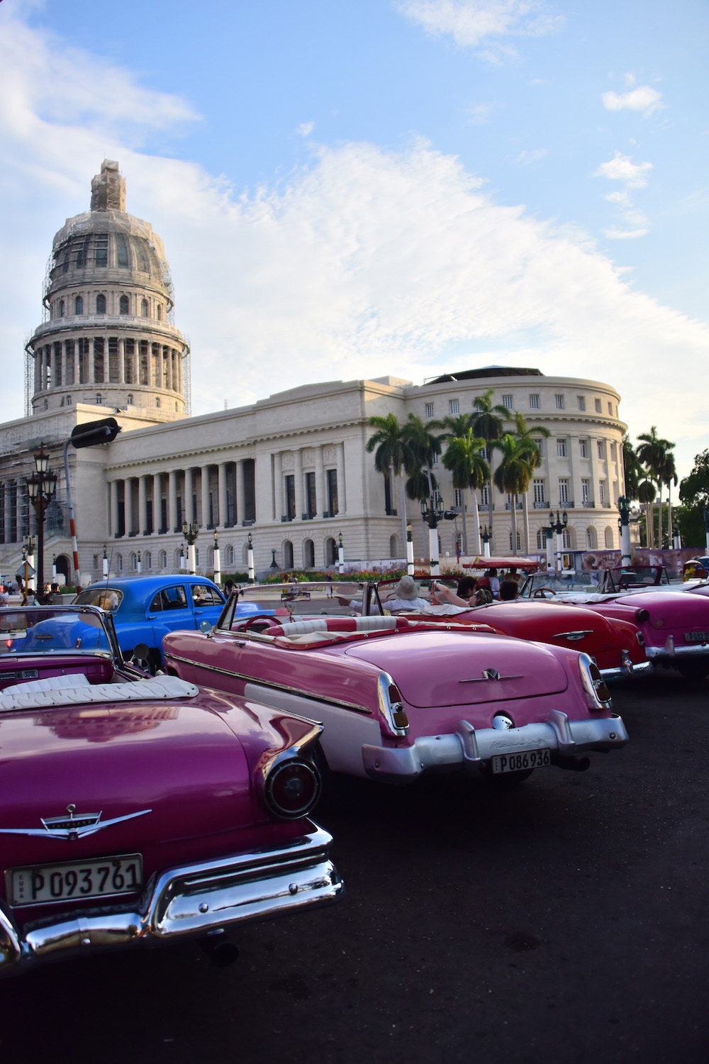 Cuba classic car travel photos