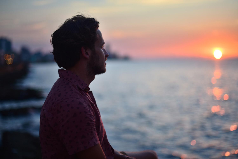 Robert Schrader in Havana, Cuba