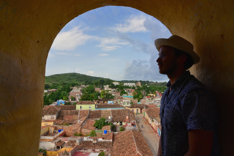 Robert Schrader in Trinidad, Cuba