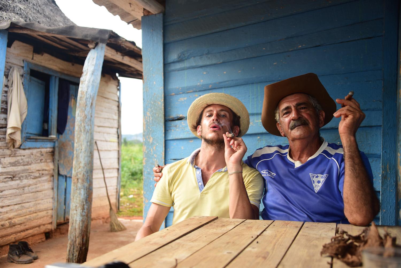 Robert Schrader in Viñales, Cuba