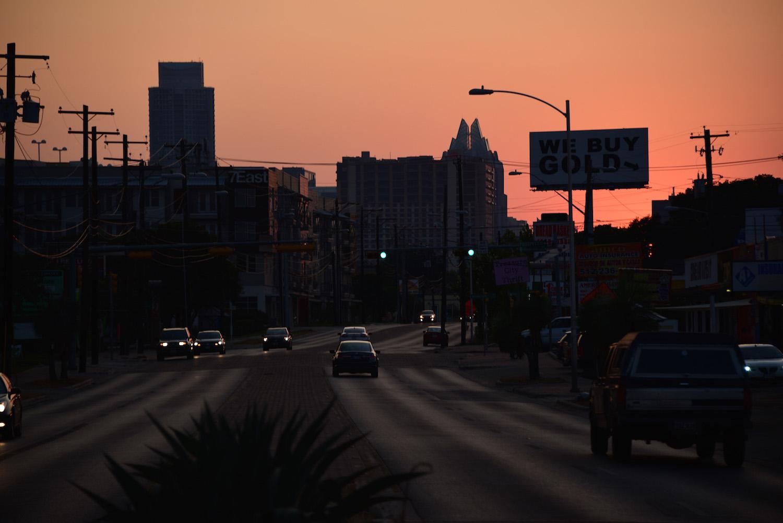 Sunset Over Austin, TX