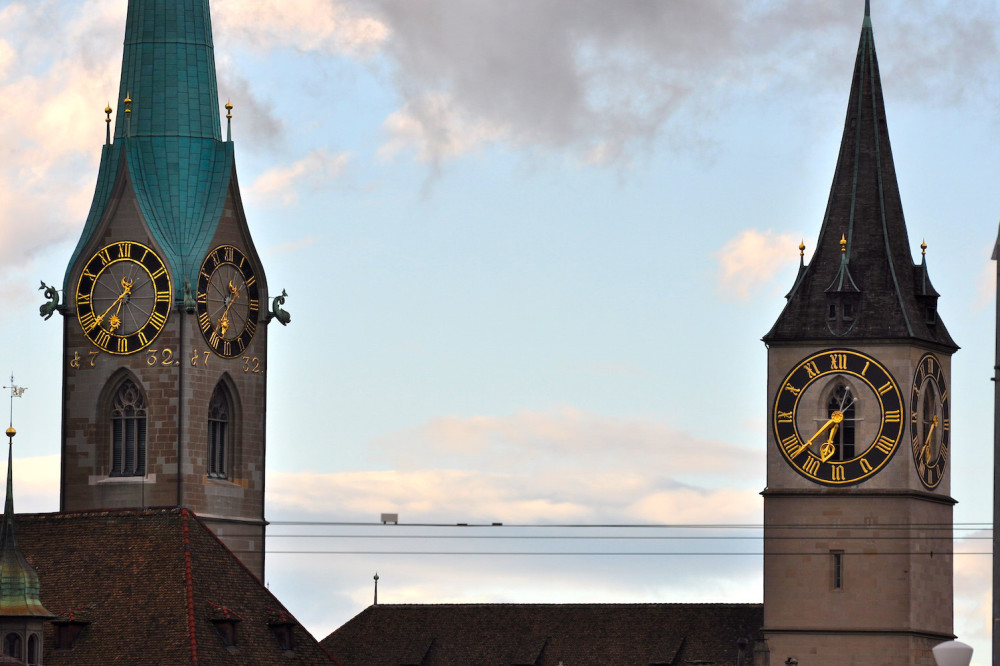 Clock-in-Zurich