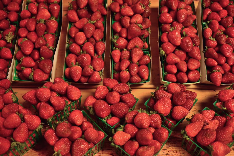 Strawberries in California