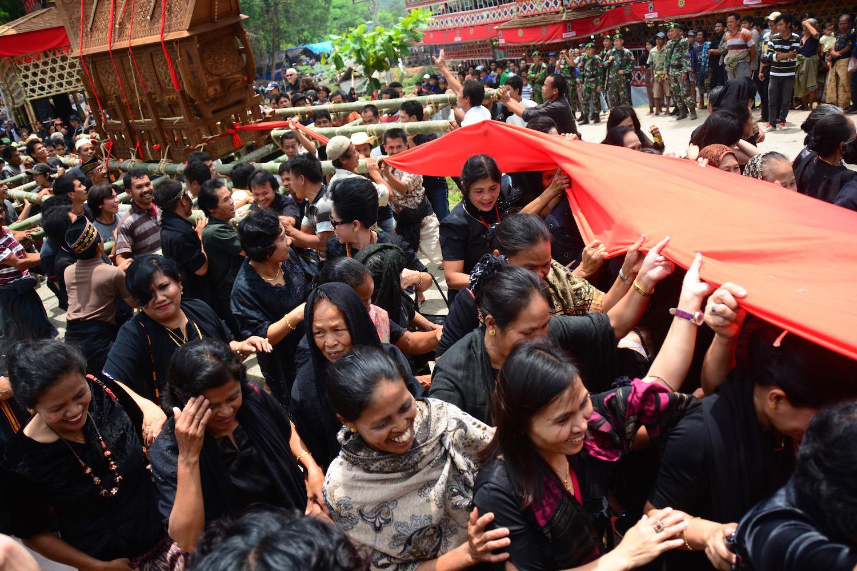 Funeral in Tana Toraja Indonesia