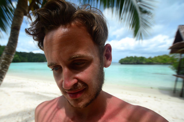 Blogger in Raja Ampat Indonesia