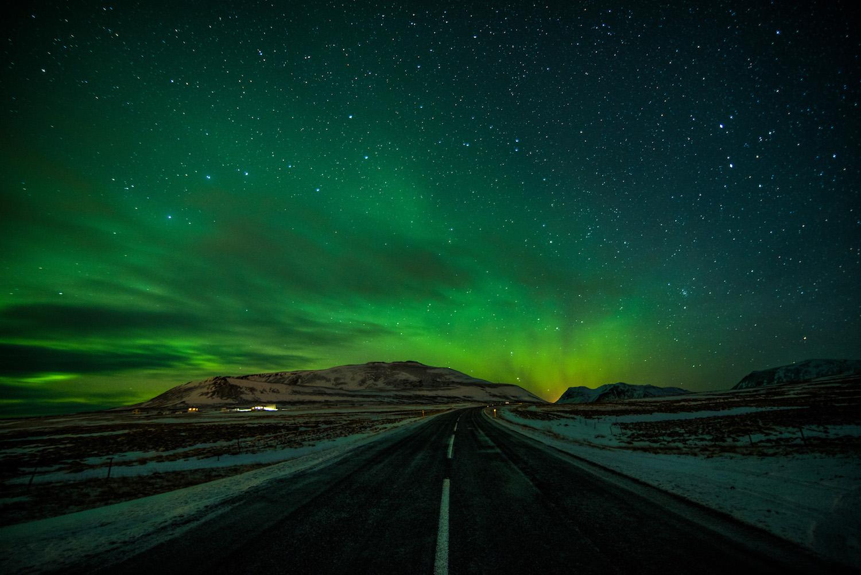 Northern Lights Iceland road trip