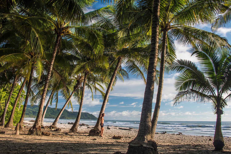 Robert Schrader in Costa Rica