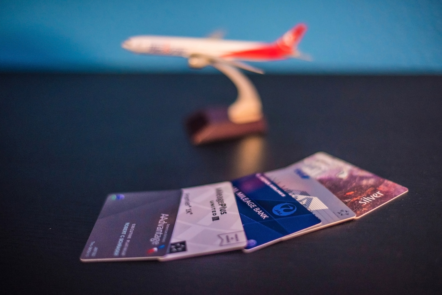 Frequent Flyer Membership Cards