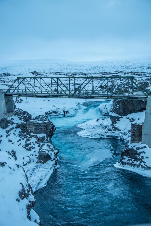 Iceland road trip bridge