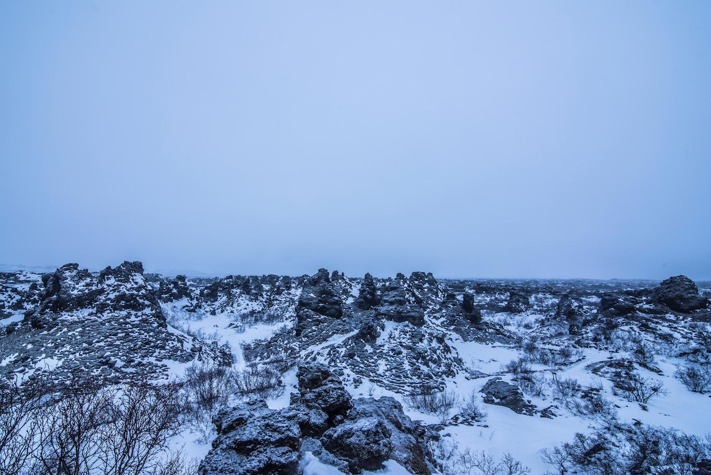 Iceland road trip lava fields