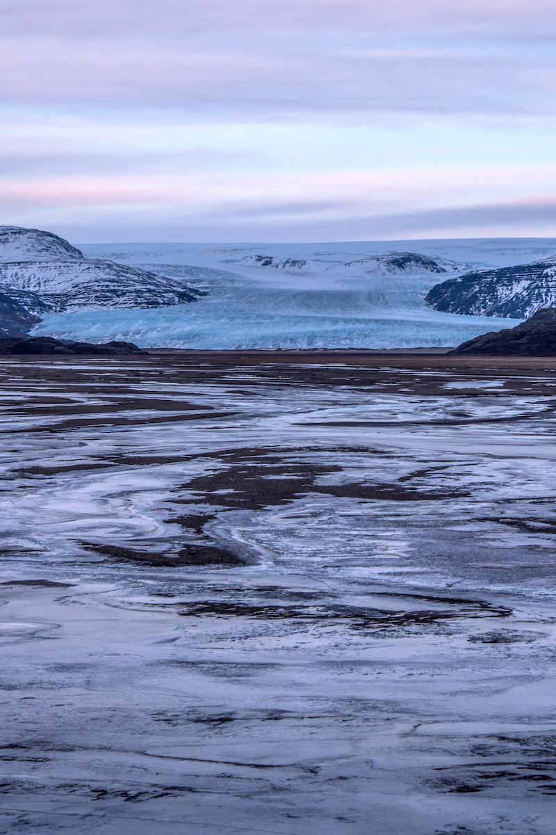 Iceland road trip glacier