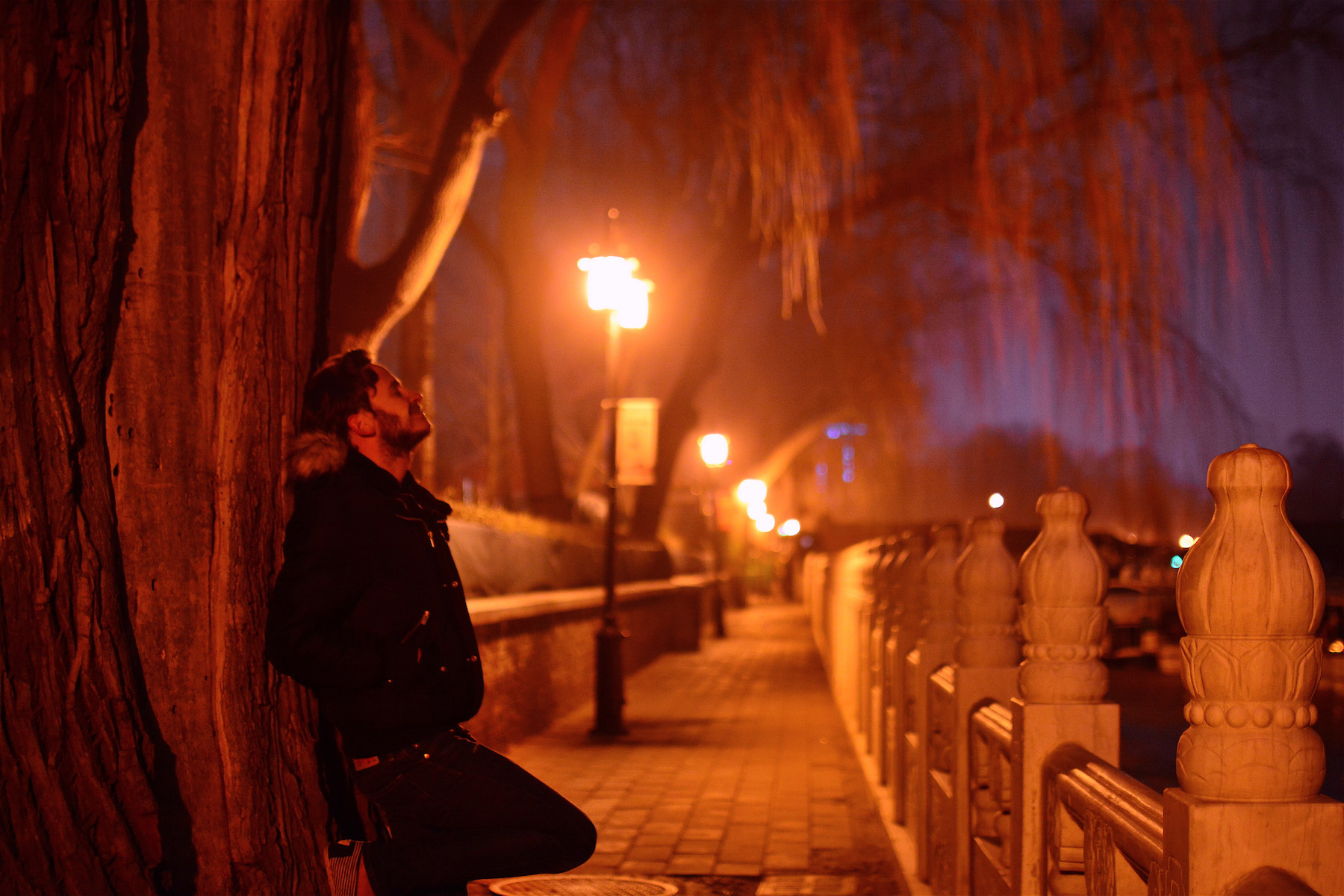 Robert Schrader in Beijing, China