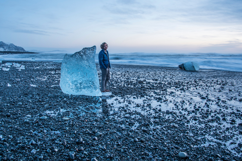 Robert Schrader in Iceland