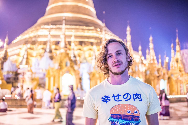 Robert Schrader in Yangon, Myanmar