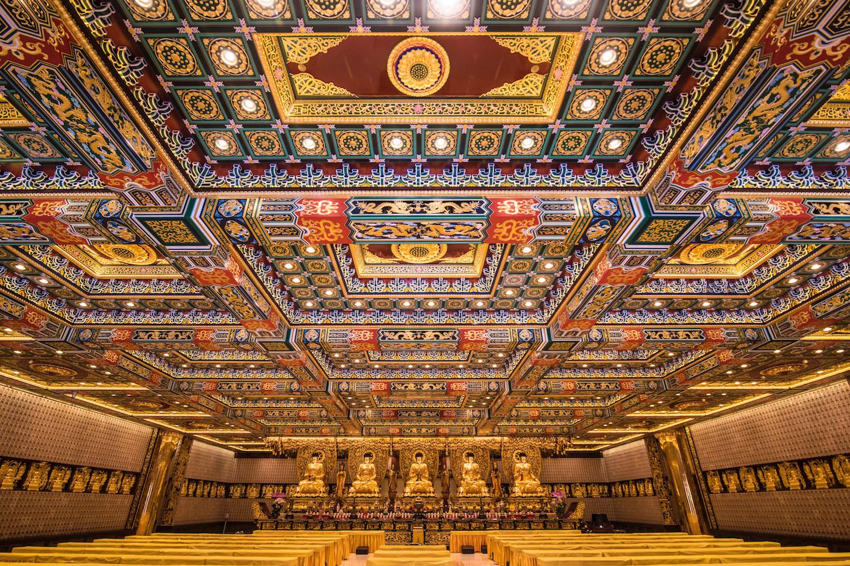 Hall of 1000 Buddhas