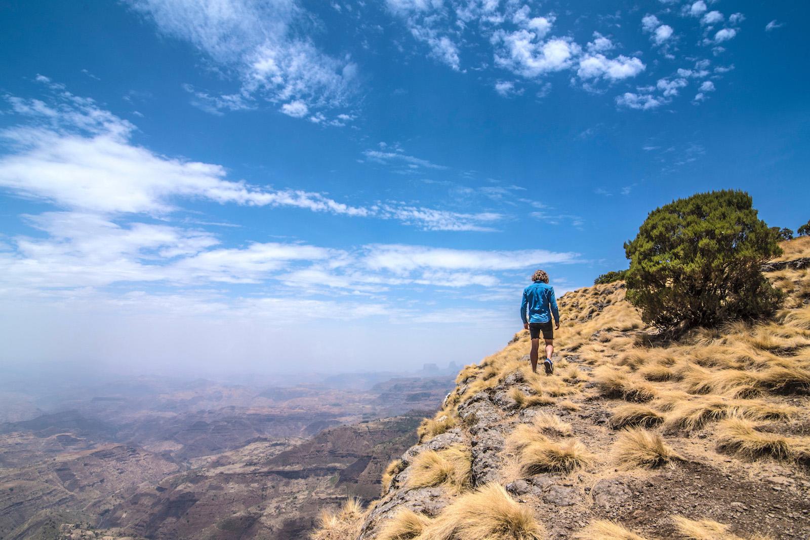 Robert Schrader hiking