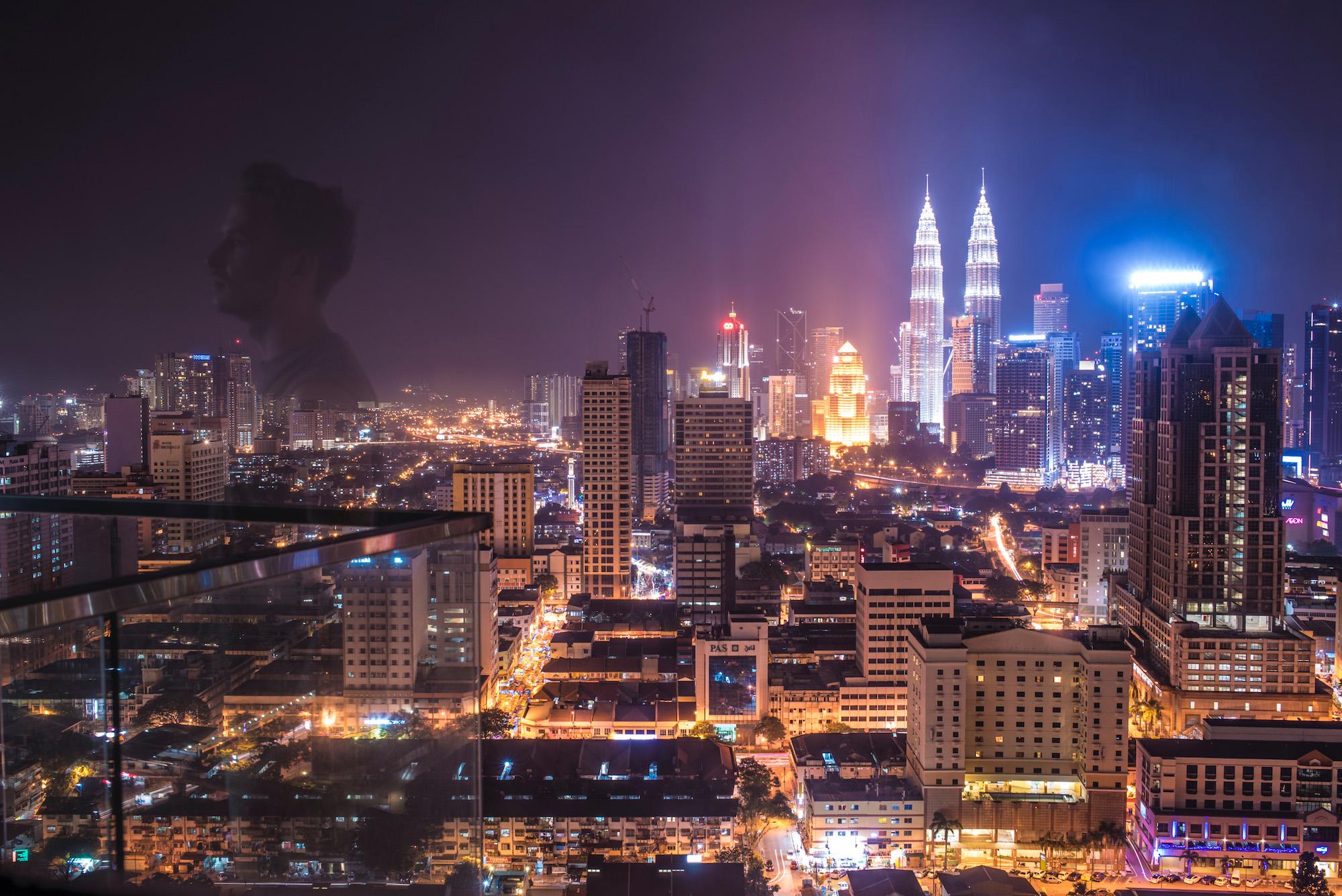Robert Schrader in Kuala Lumpur