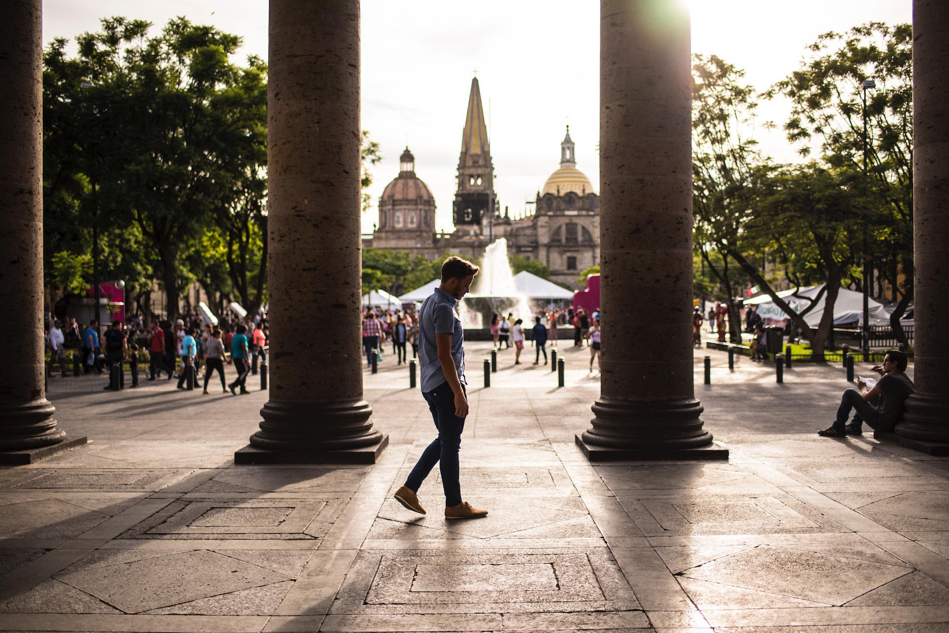 Robert Schrader in Guadalajara, Mexico