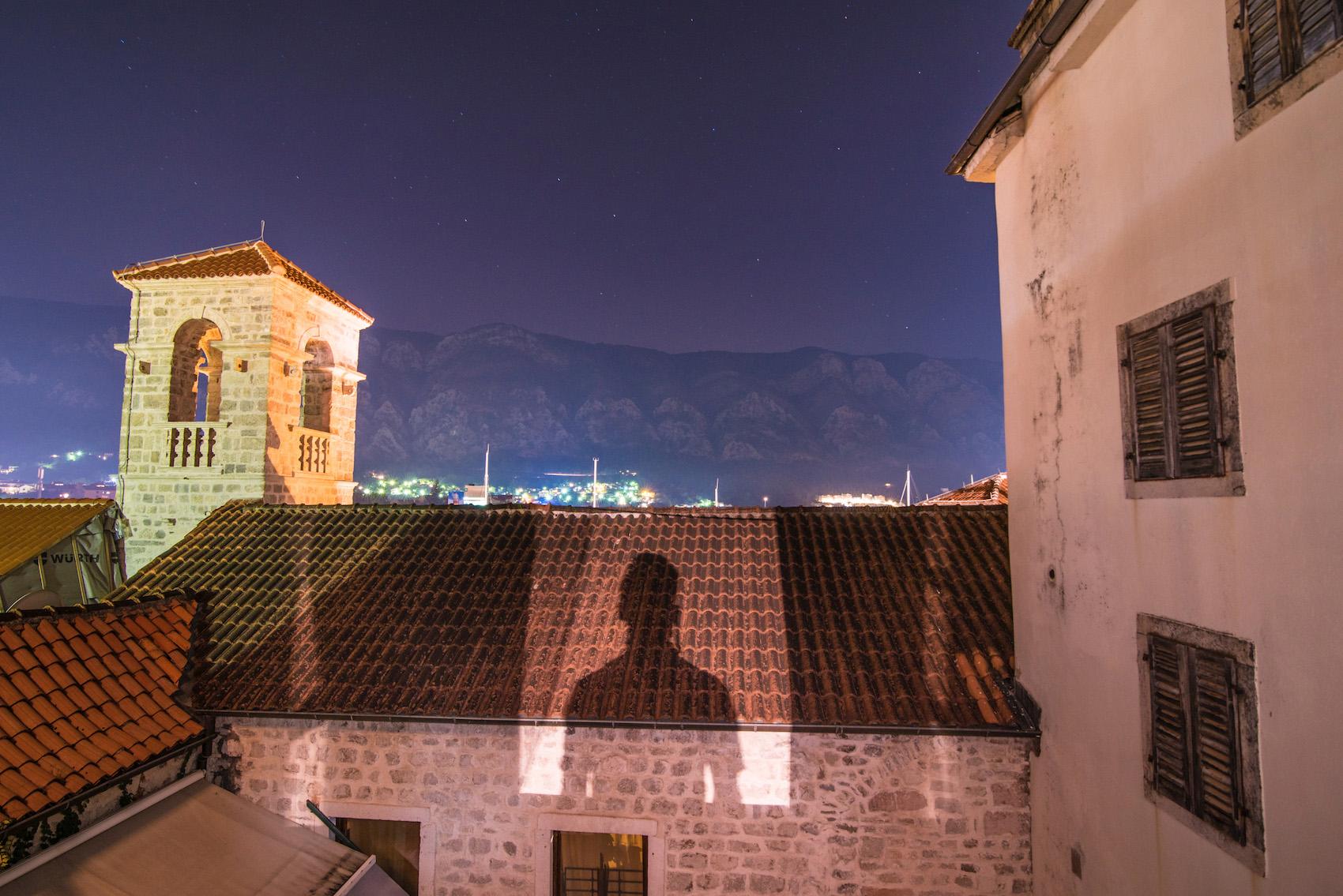 Robert Schrader in Kotor, Montenegro