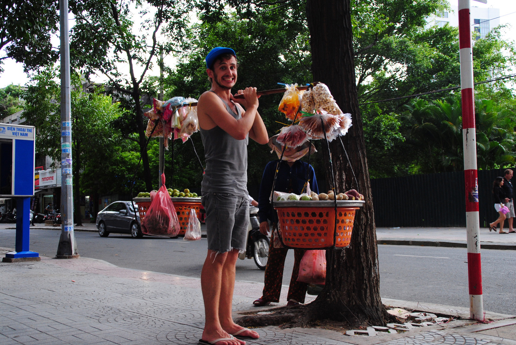 Robert Schrader in Ho Chi Minh City, Vietnam