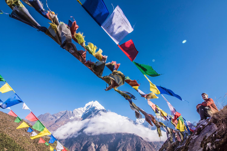 Robert Schrader in Nepal