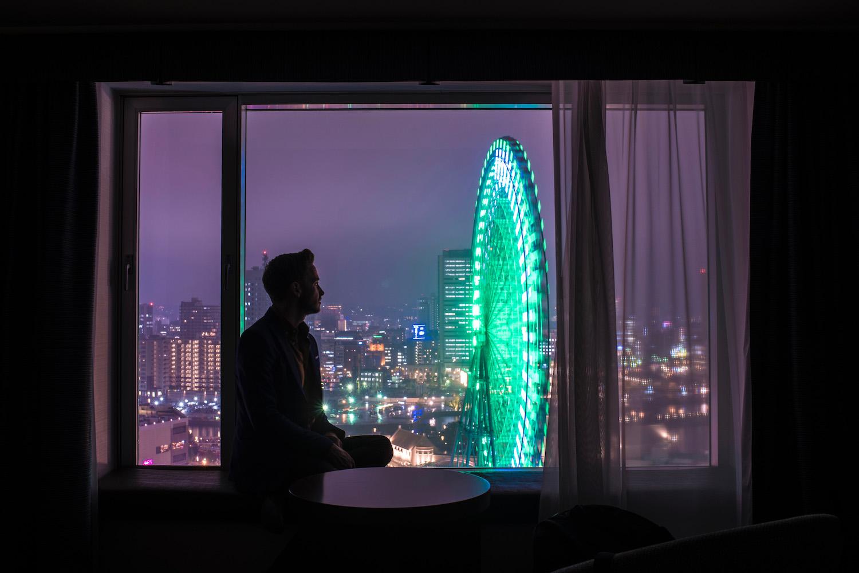 Robert Schrader in Japan