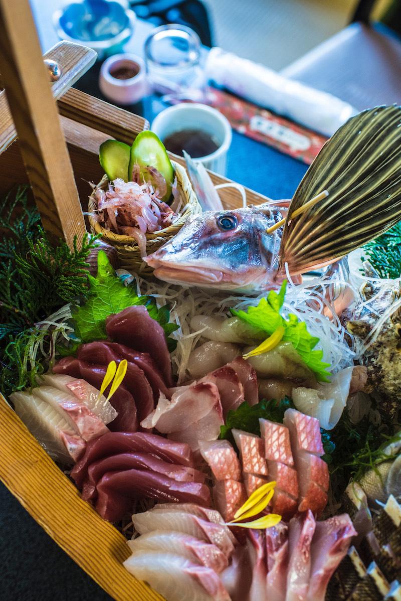 Sushi in Shizuoka, Japan