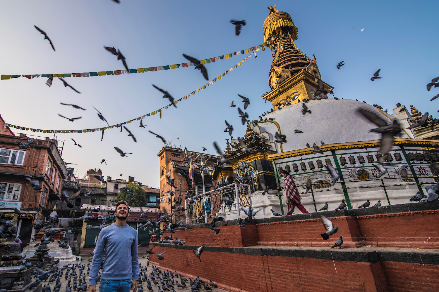 Robert Schrader in Nepal