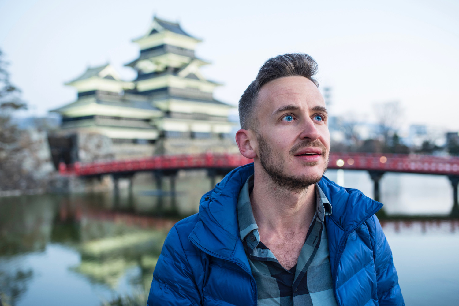 Robert Schrader in Matsumoto, Japan
