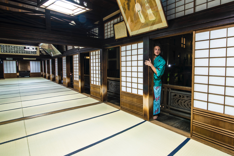 Robert Schrader in Shikoku