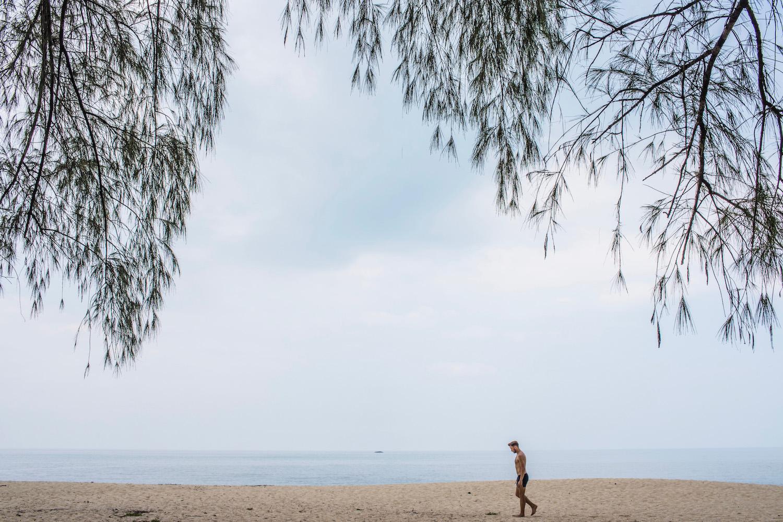 Beach in Penang Malaysia