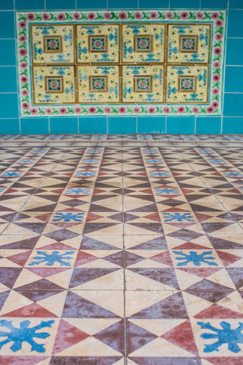 Penang Malaysia tiles