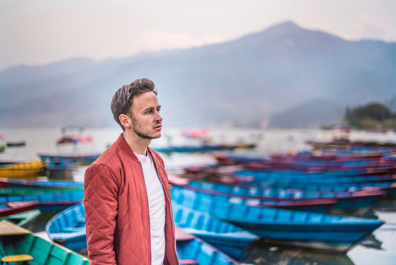 Robert Schrader in Pokhara, Nepal
