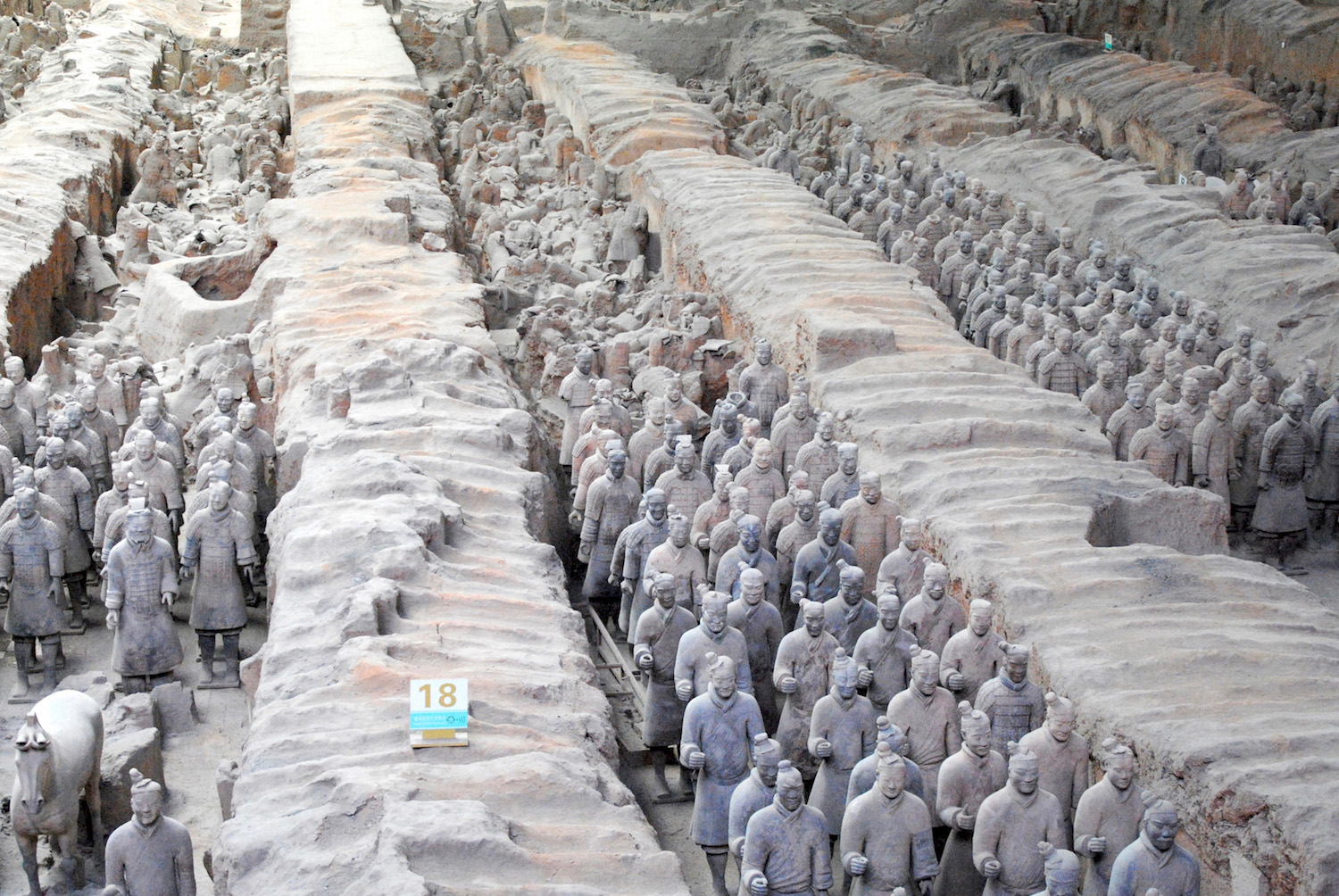 Terracotta Army in Xi'an China