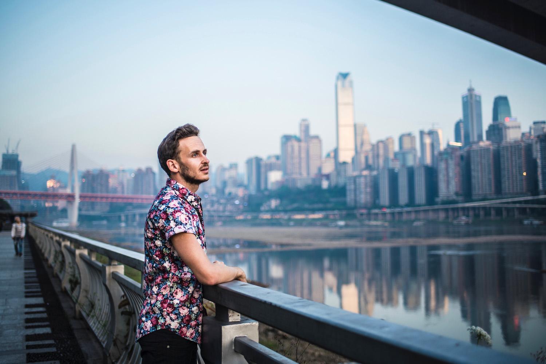 Robert Schrader in Chongqing, China