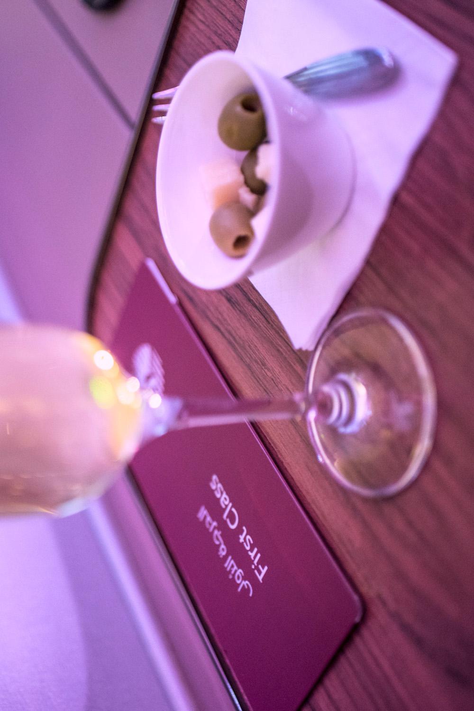Review Qatar Airways First Class Doha Doh To Bangkok Bkk