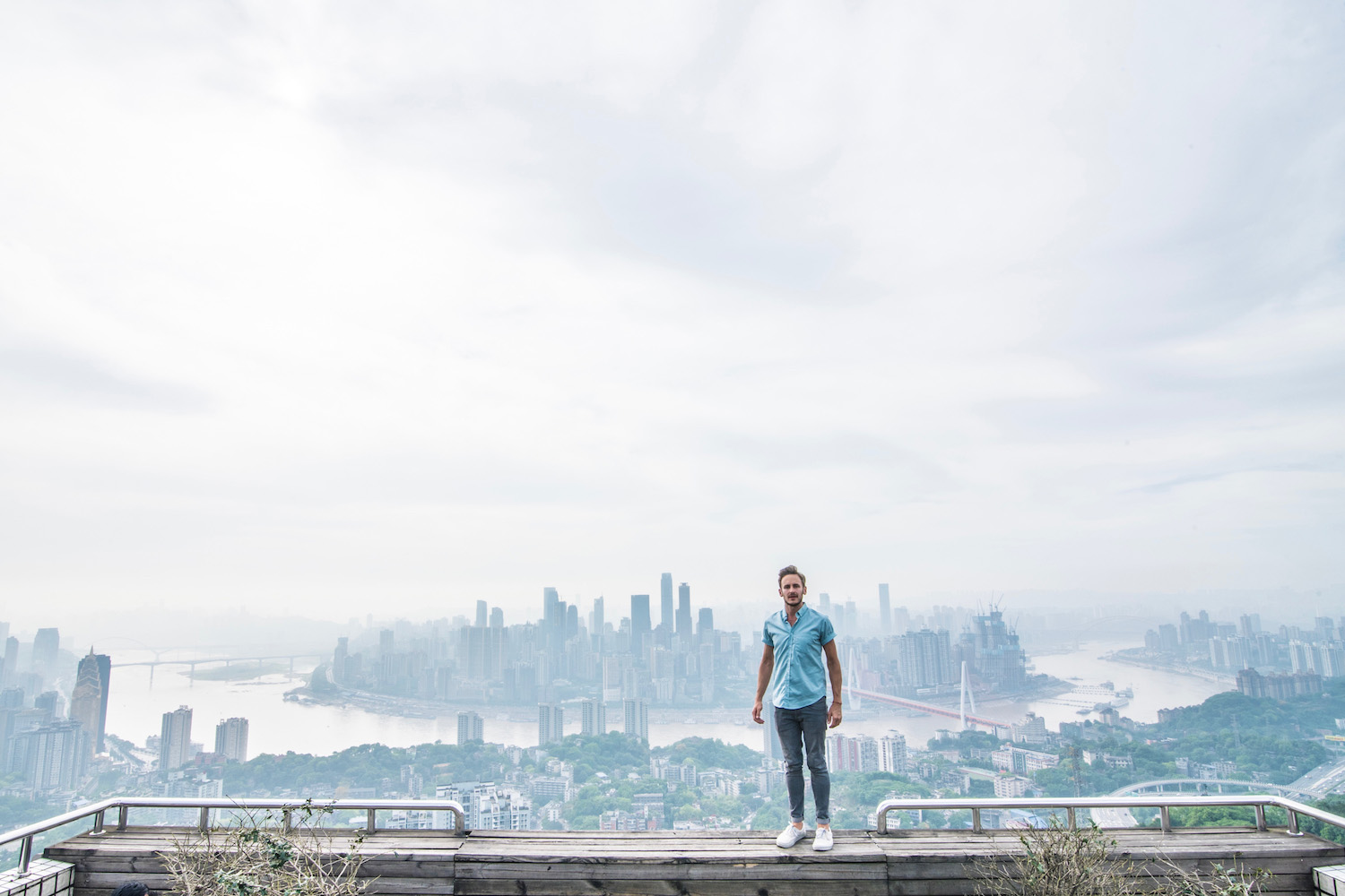 Robert Schrader in Chongqing, China