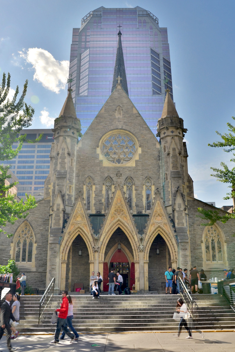 Cathedral in Montréal