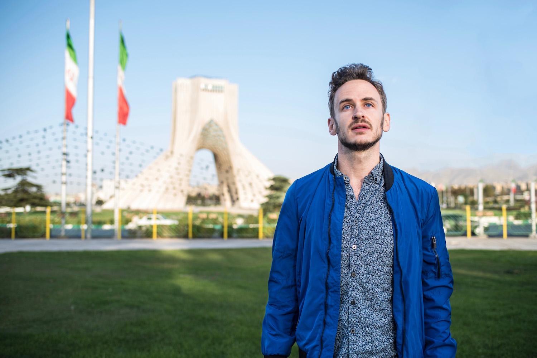 Robert Schrader in Tehran, Iran