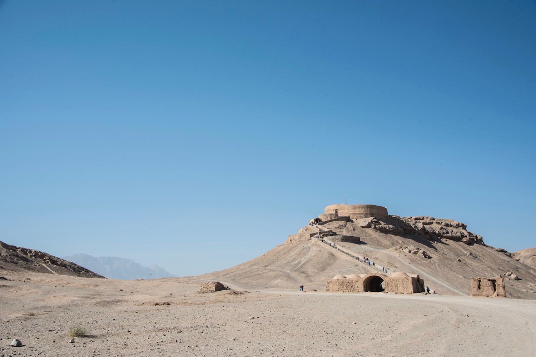 Yazd Mesr Desert Iran