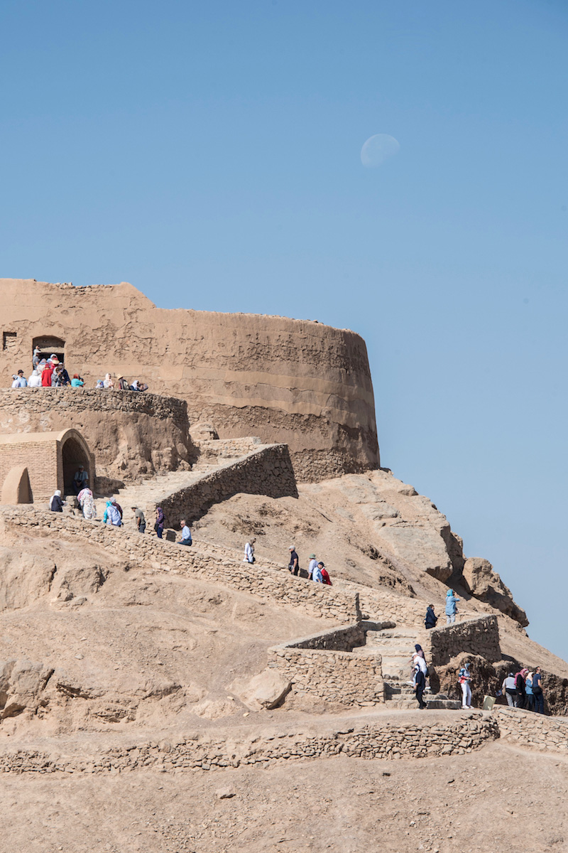 Iran travel pictures Tower of Silence