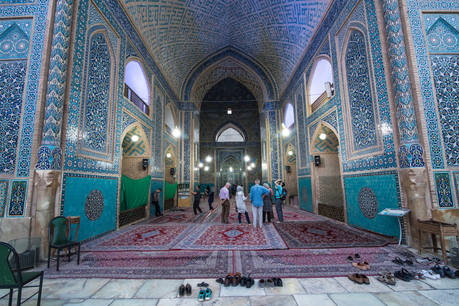 Iran travel pictures Jameh Mosque Yazd