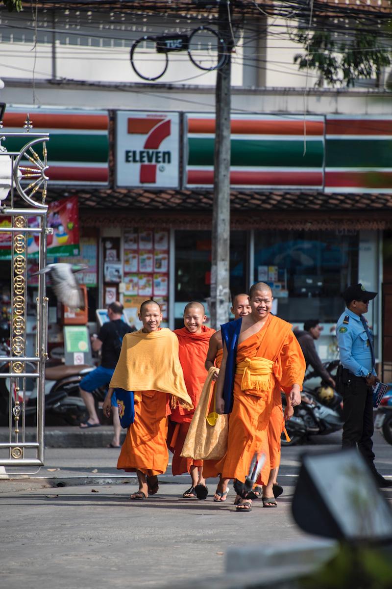 Chiang Mai 7-11 Thailand