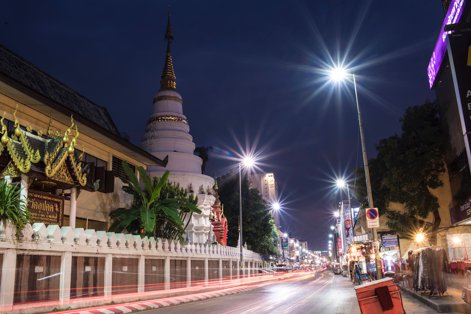 Thailand long exposure Chiang Mai