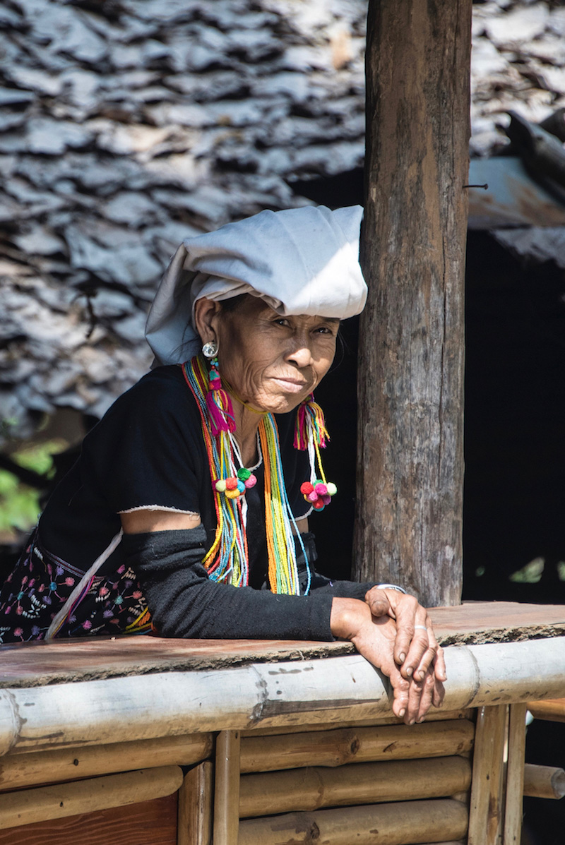 Karen hill tribe woman Chiang Mai