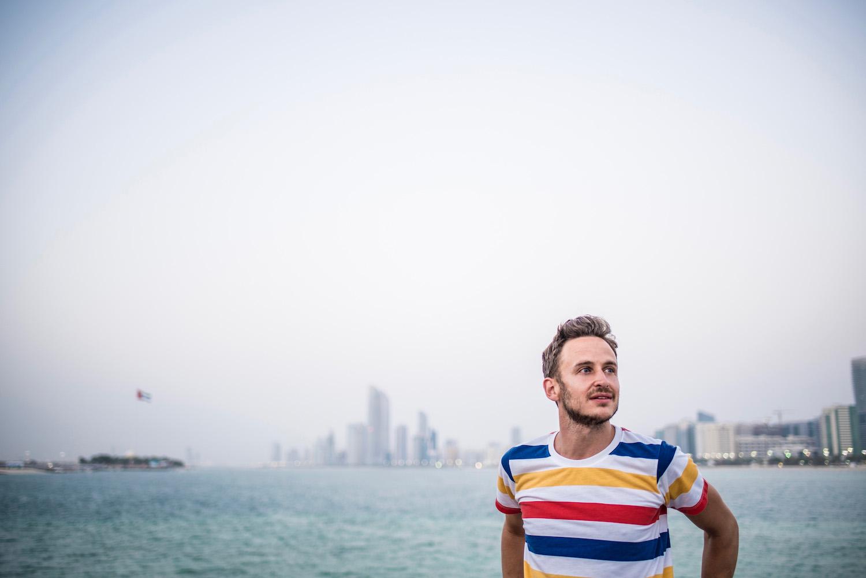 Robert Schrader in Abu Dhabi, UAE