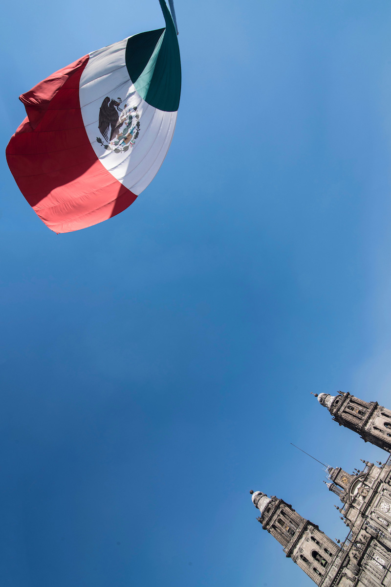 Zócalo square in Mexico City